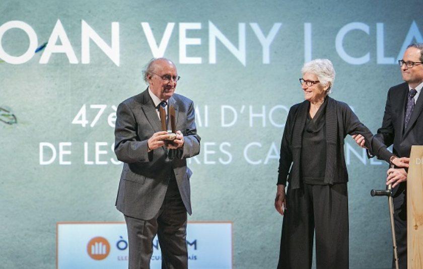 """Joan Veny: """"Sóc un enamorat de les paraules"""""""