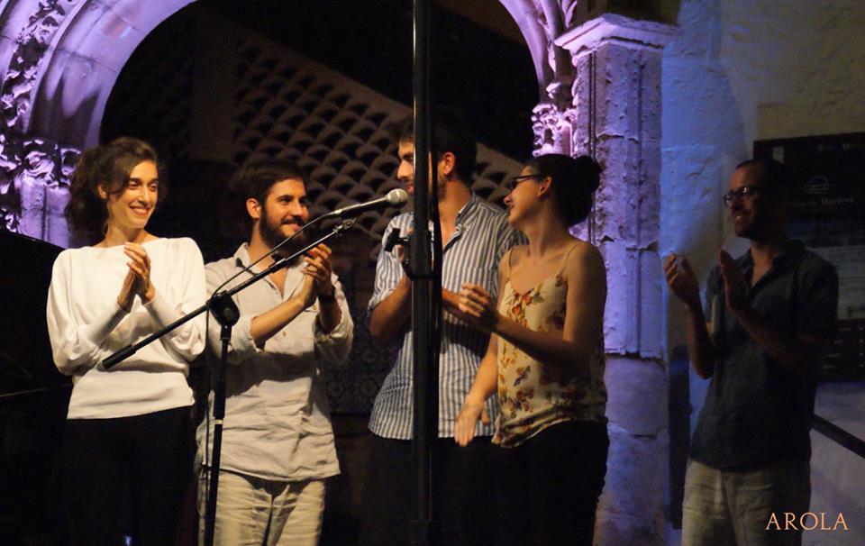 Recital de poetes joves al Racó de la Calma | Foto: Carles Arola