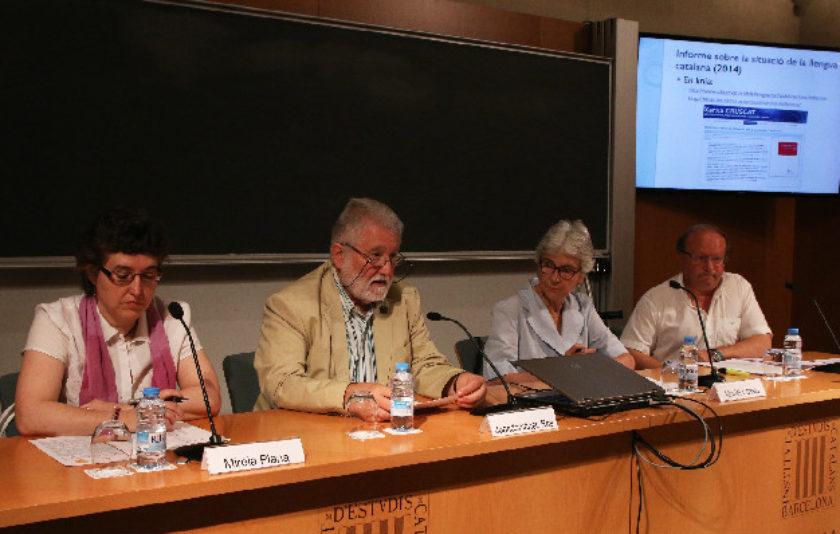 Una acció conjunta pot millorar l'ús del català