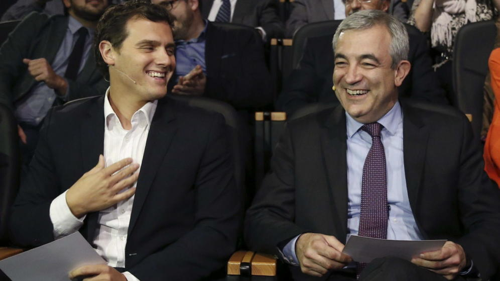 Luis Garicano amb Albert Rivera