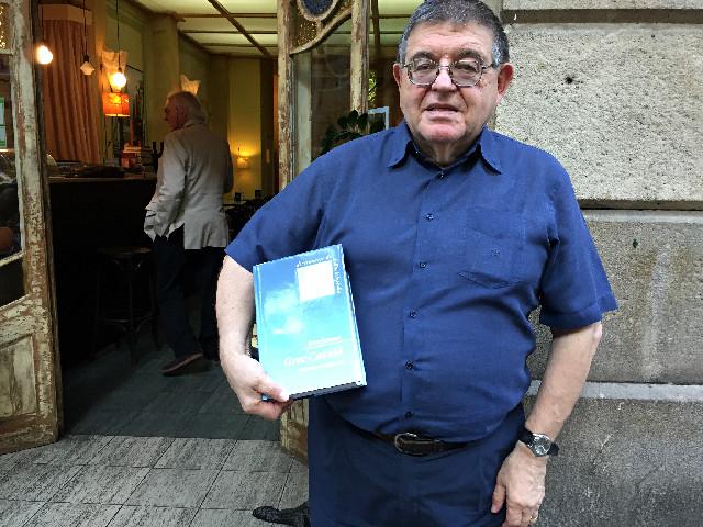Joan Alberich, professor de grec   Foto: Griselda Oliver