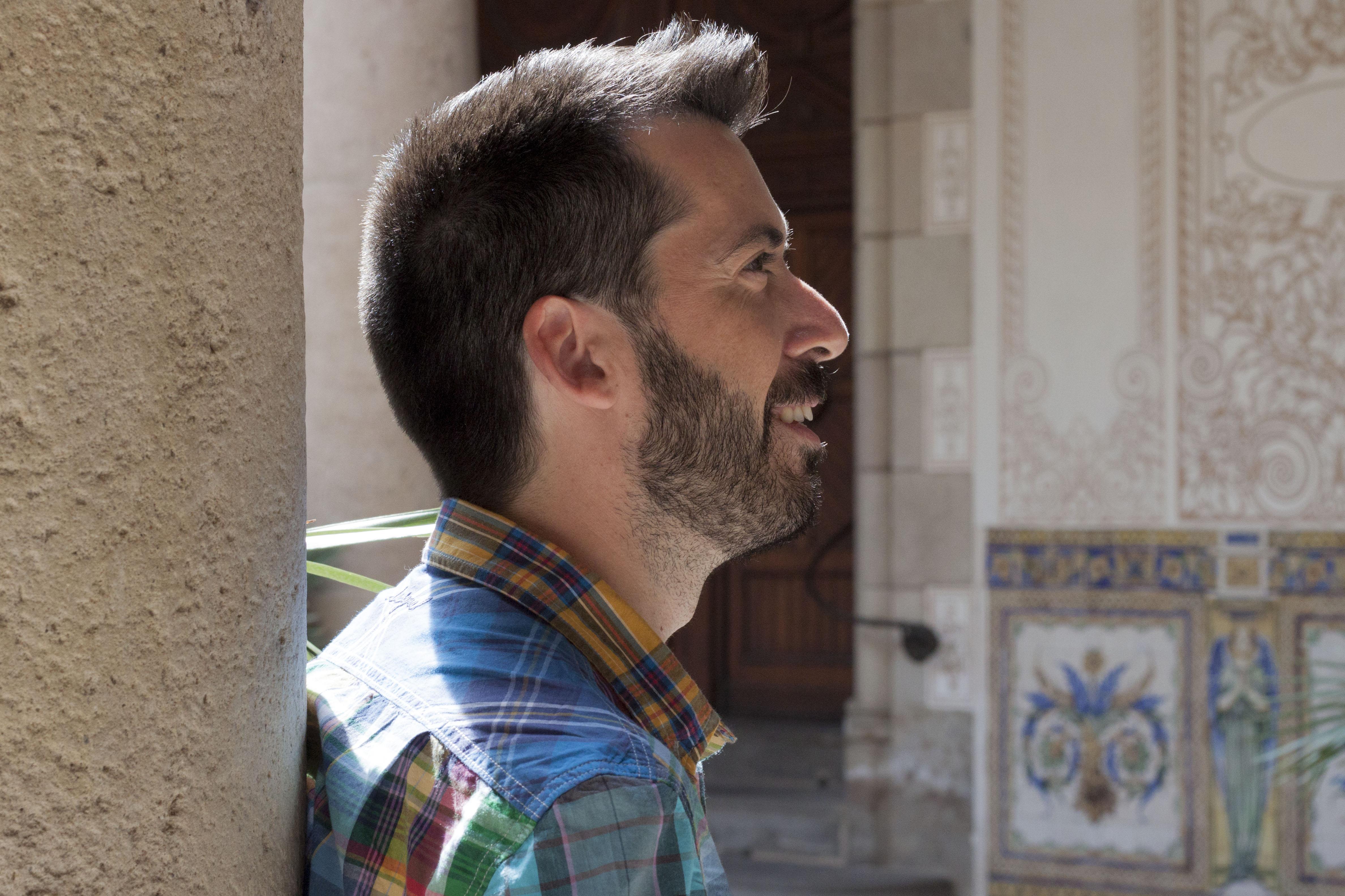 Jordi Duran al Pati Manning de Barcelona. © Tatiana Pagà