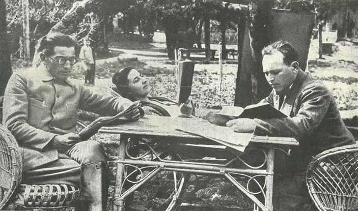 Panatau Istrati amb Bilili, a la segona part del seu viatge a l'URSS | Font: col·lecció Margaret Istrati