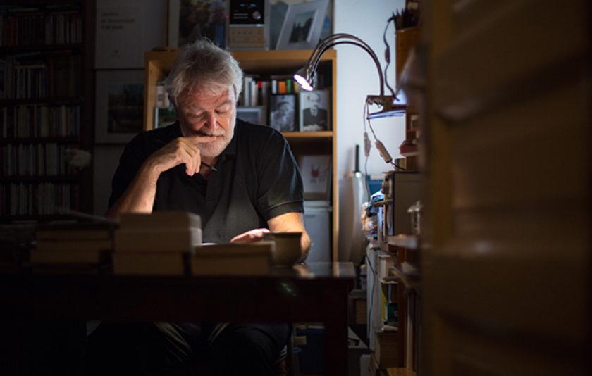 Antoni Clapés escriu la pluja