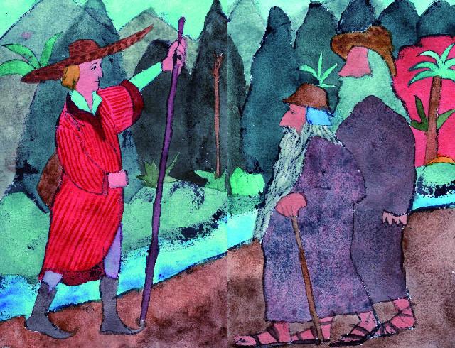 Una de les il·lustracions de Perico Pastor per al 'Llibre de les bèsties'