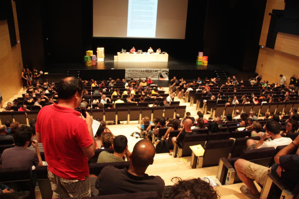 Assemblea Nacional de la CUP a Castelló de la Plana