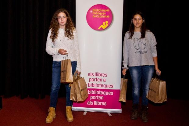 Les guanyadores del concurs de Booktrailers