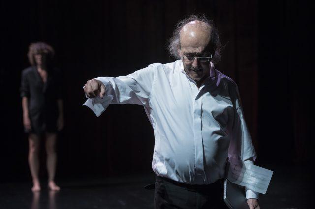 Carles Santos estrena Patetisme Il·lustrat al Teatre Nacional. © TNC