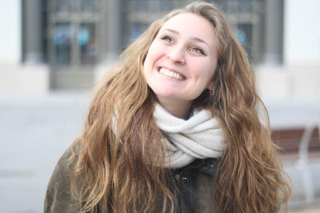 Marion Harper no perd mai el somriure | Font: Clàudia Rius