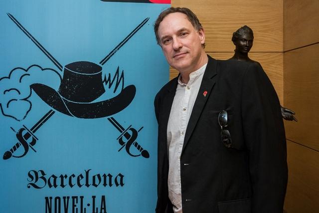 Simon Scarrow és el guanyador del III Premi Internacional Barcino de Novel·la Històrica   Font: Barcino Novel·la Històrica