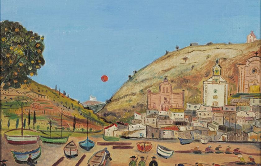Tossa i els dos pintors alemanys de la Guerra Civil