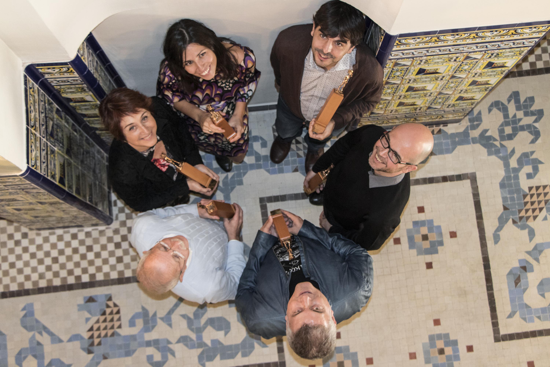 Pedro Gómez Romero, Gemma Lienas, Joanjo Garcia, Mercè Climent, Enric Lluch i Xavier Puchades