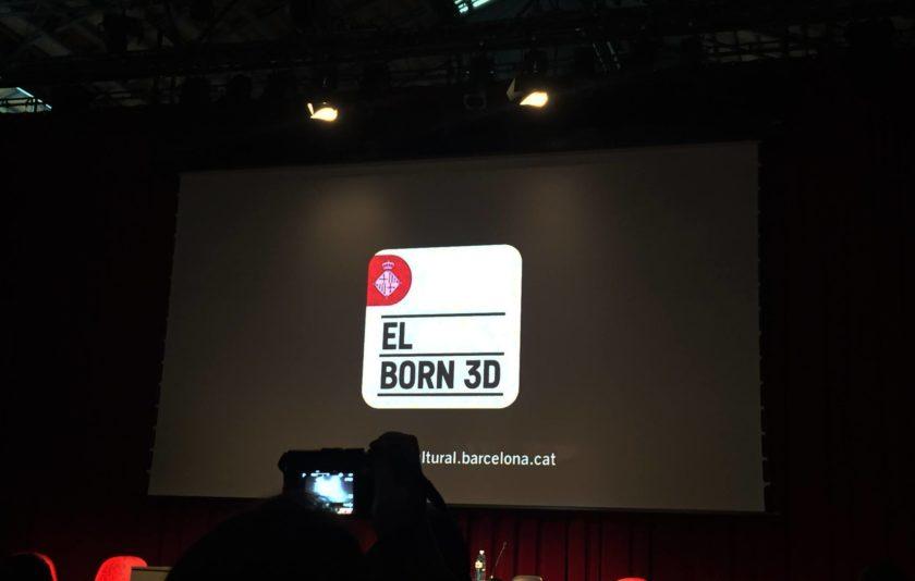 L'aplicació El Born 3D, disponible el pròxim mes de gener