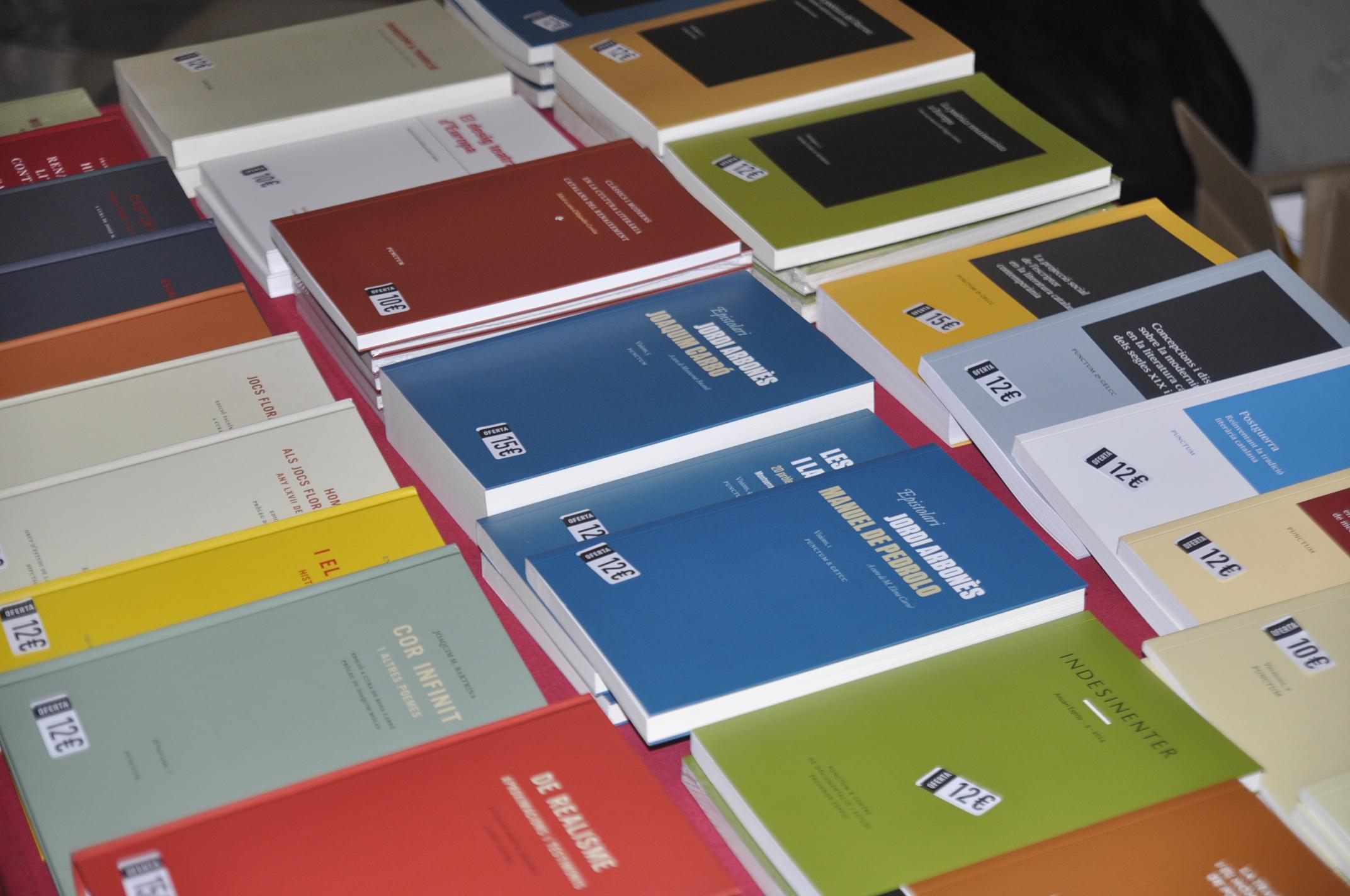 Alguns llibres de Punctum
