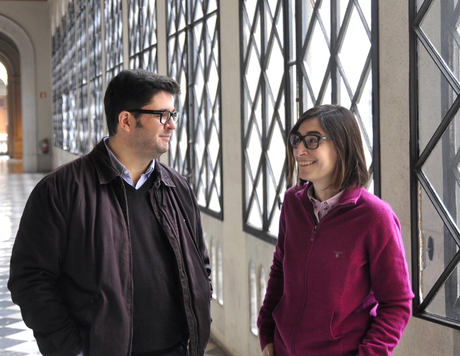 Òscar Bagur i Marta Vilallonga