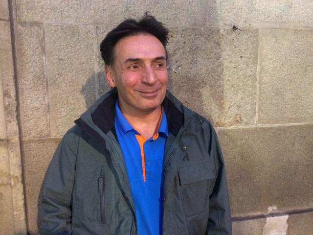 Roberto Fraga ahir a La VIrreina