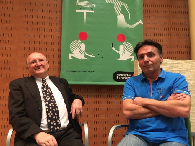 Tom Werneck i Roberto Fraga | Foto Núvol