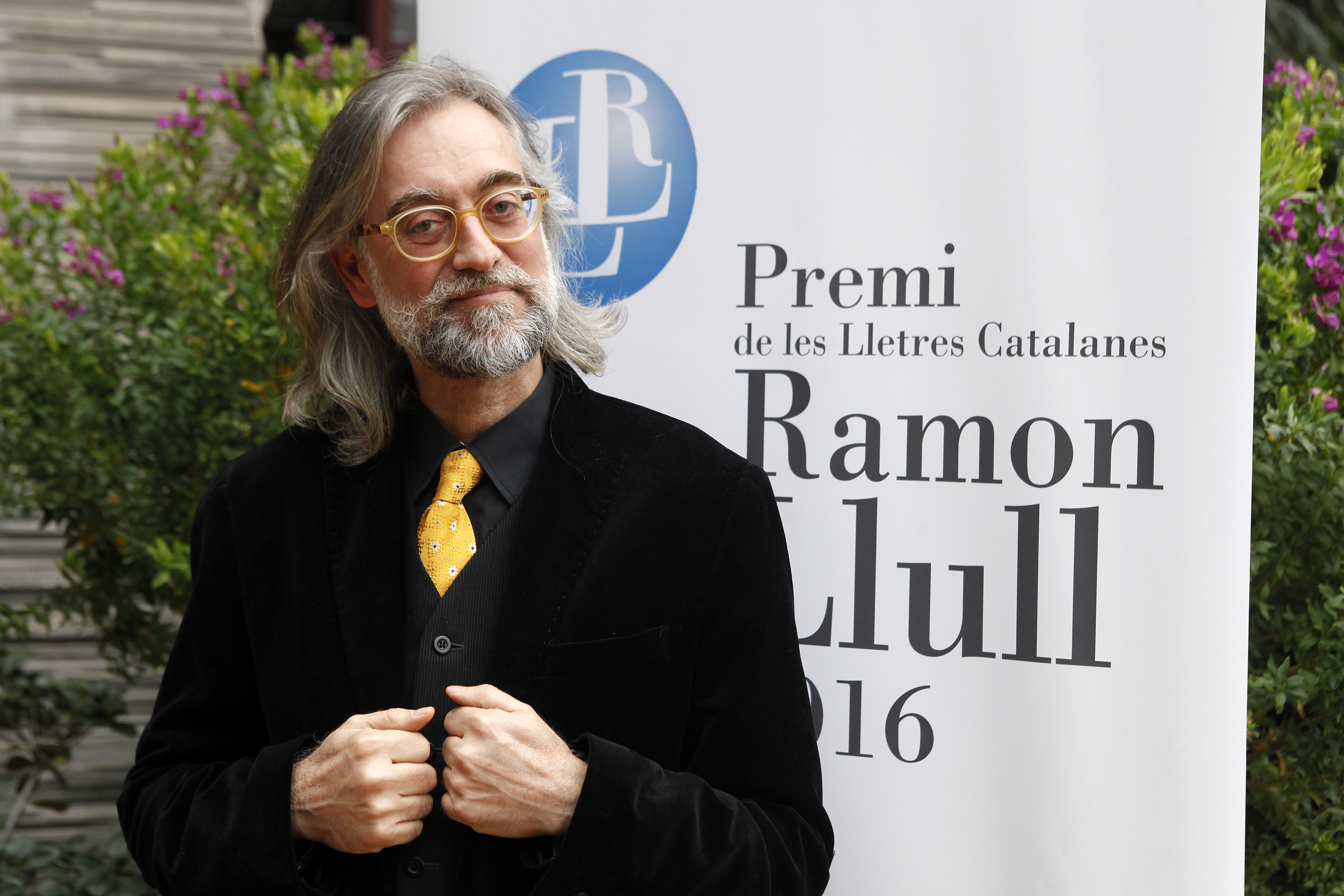 Víctor Amela guanya el Premi Ramon Llull 2016 | Foto: Arduino Vannucchi
