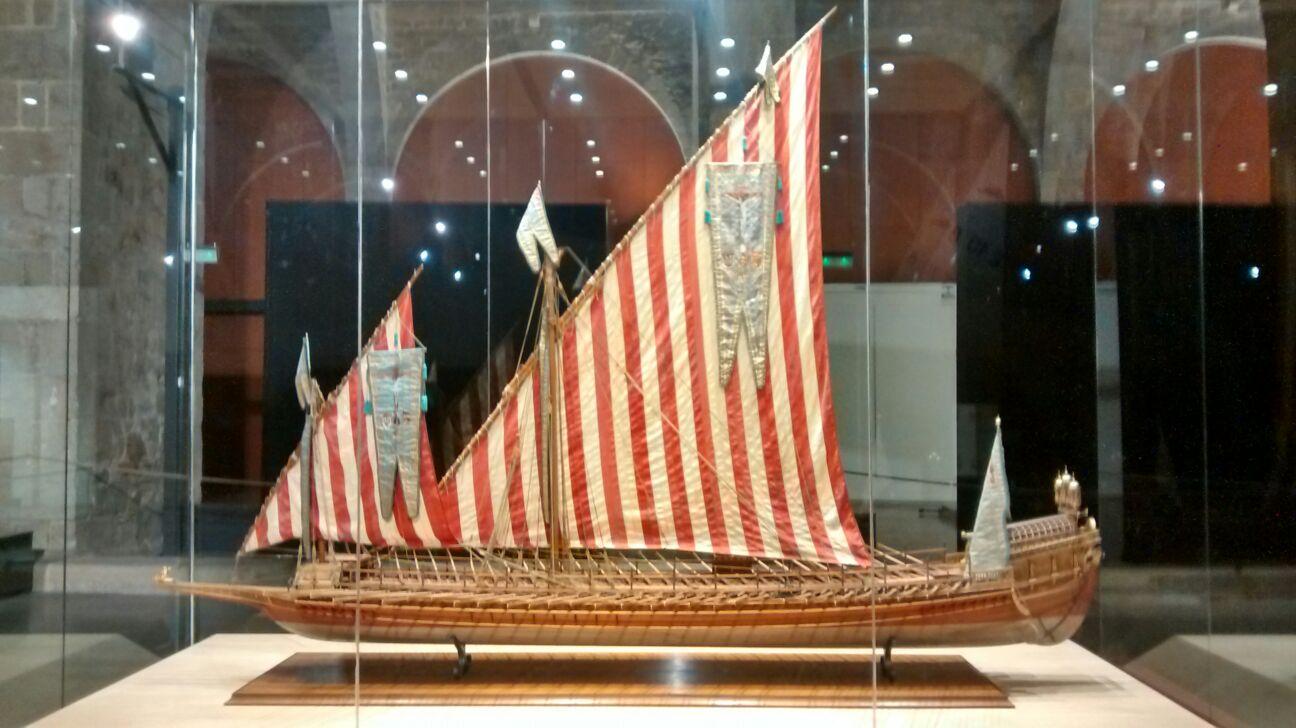 Model de galera reial de don Joan d'Àustria, construït per José Carreras (1970)