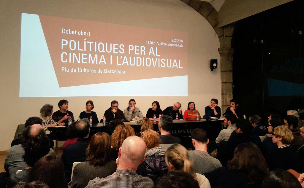 Debat sobre l'Audiovisual a la Virreina, dijous passat