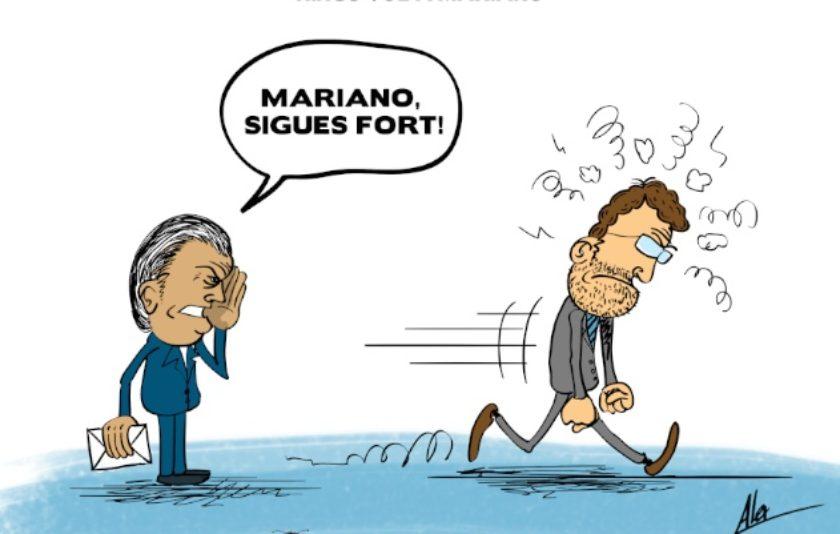 Bárcenas anima Rajoy