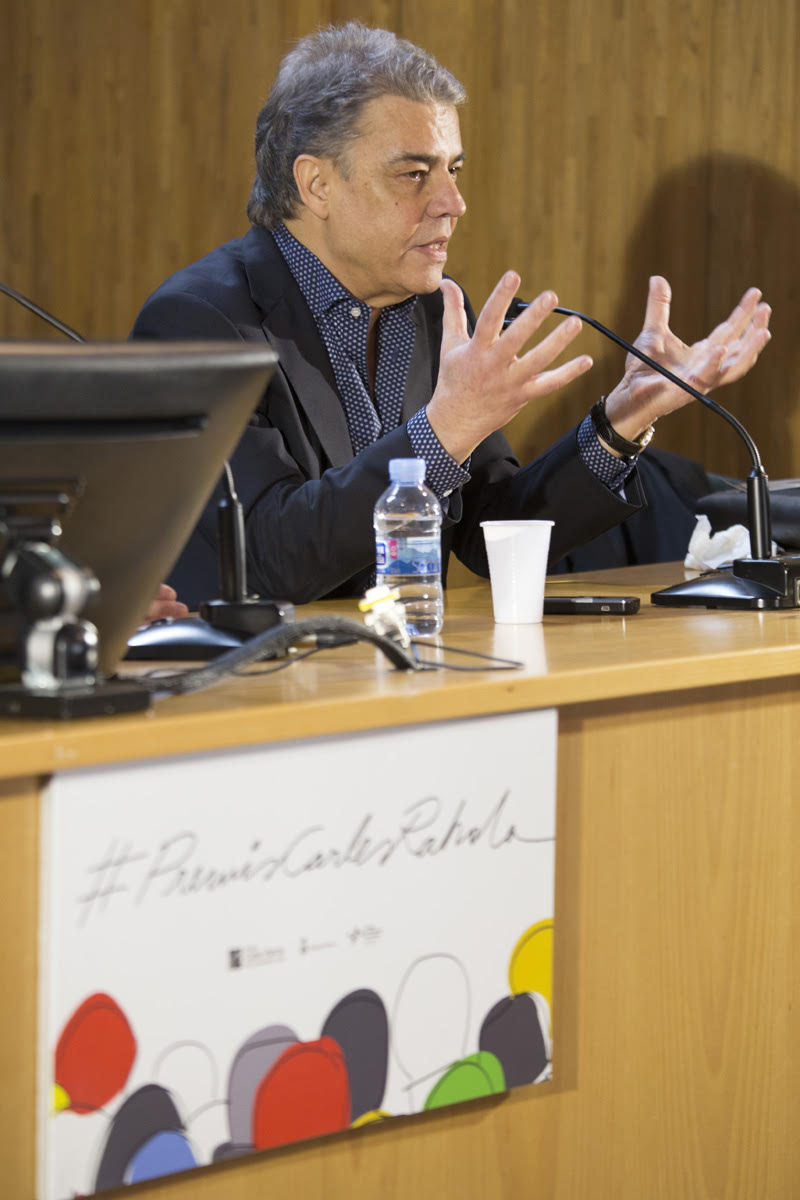 Joaquim Maria Puyal ha obert la Setmana dels Rahola | Foto: Martí Artalejo, Diputació de Girona