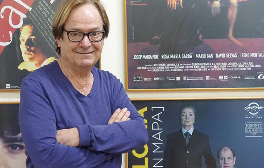 """Ventura Pons: """"L'únic en què crec és en fer les pel·lícules"""""""