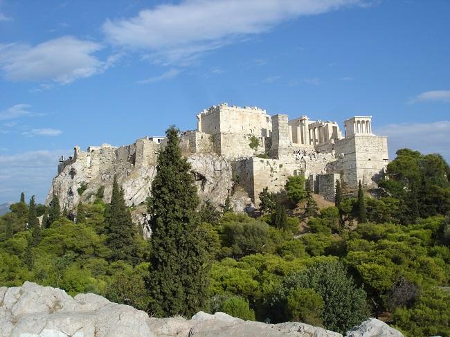 L'Acròpolis vista des de