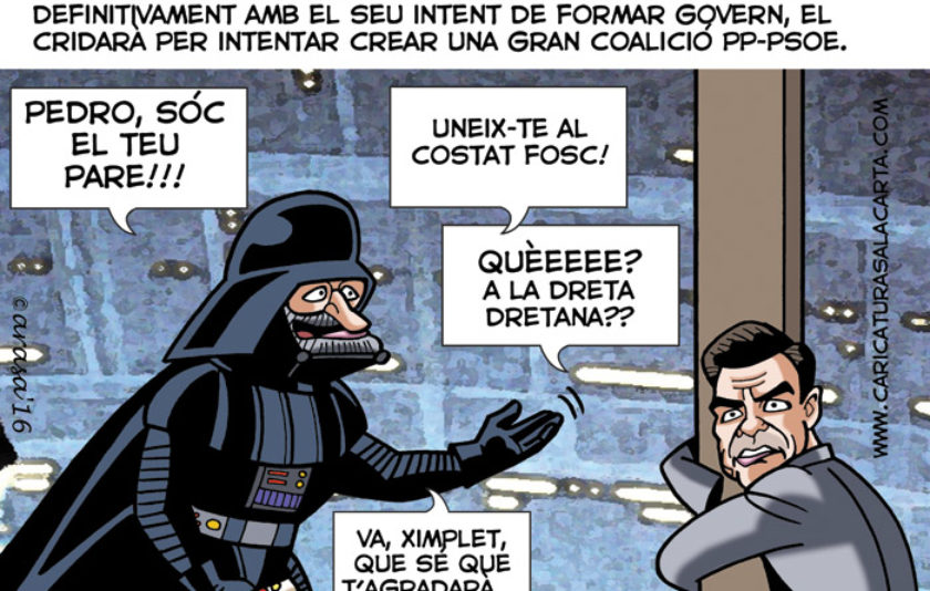 "Rajoy, a Pedro Sánchez: ""Sóc el teu pare"""