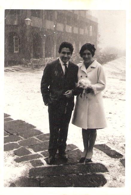 Casament de Ricard Salvat i Núria Golobardes a Sant Bernat del Montseny. © Fundació Ricard Salvat