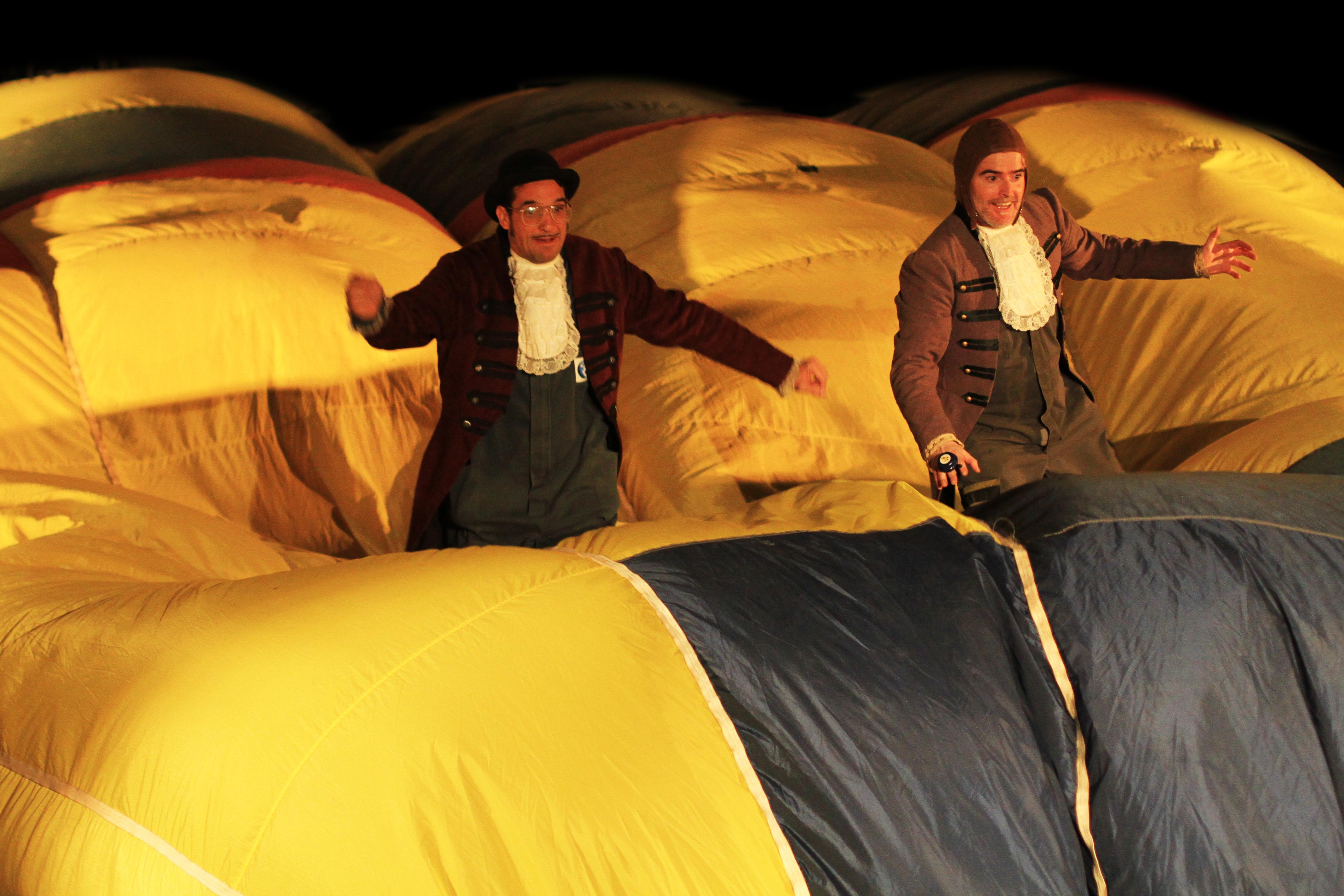 Els Farrès Brothers i el seu globus aerostàtic