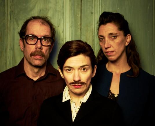 L'escriptora i els seus pares (Pepo Blasco, Carla Torres i Vero Cendoya)