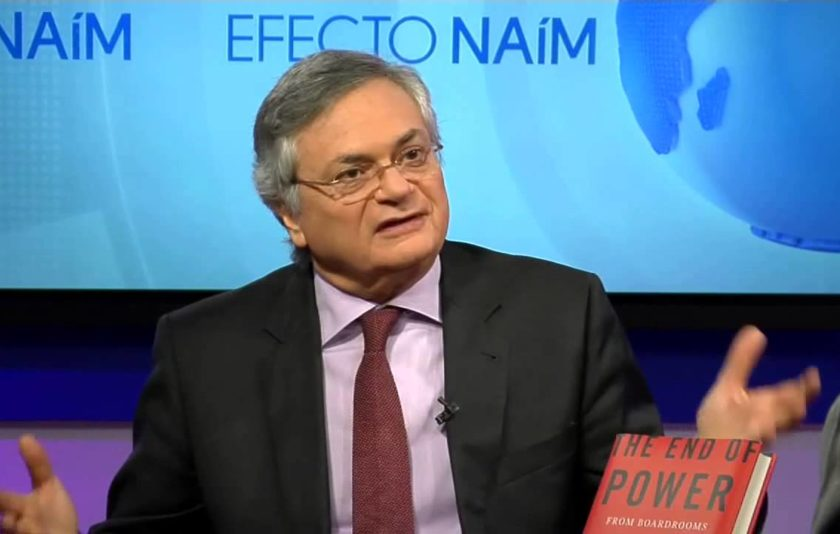 "Moisés Naím: ""El poder està canviant de mans"""