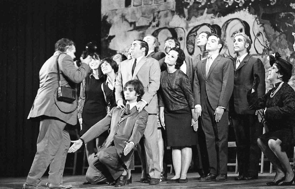 Ronda de mort a Sinera, versió de 1970. © Pau Barceló. MAE. Institut del Teatre