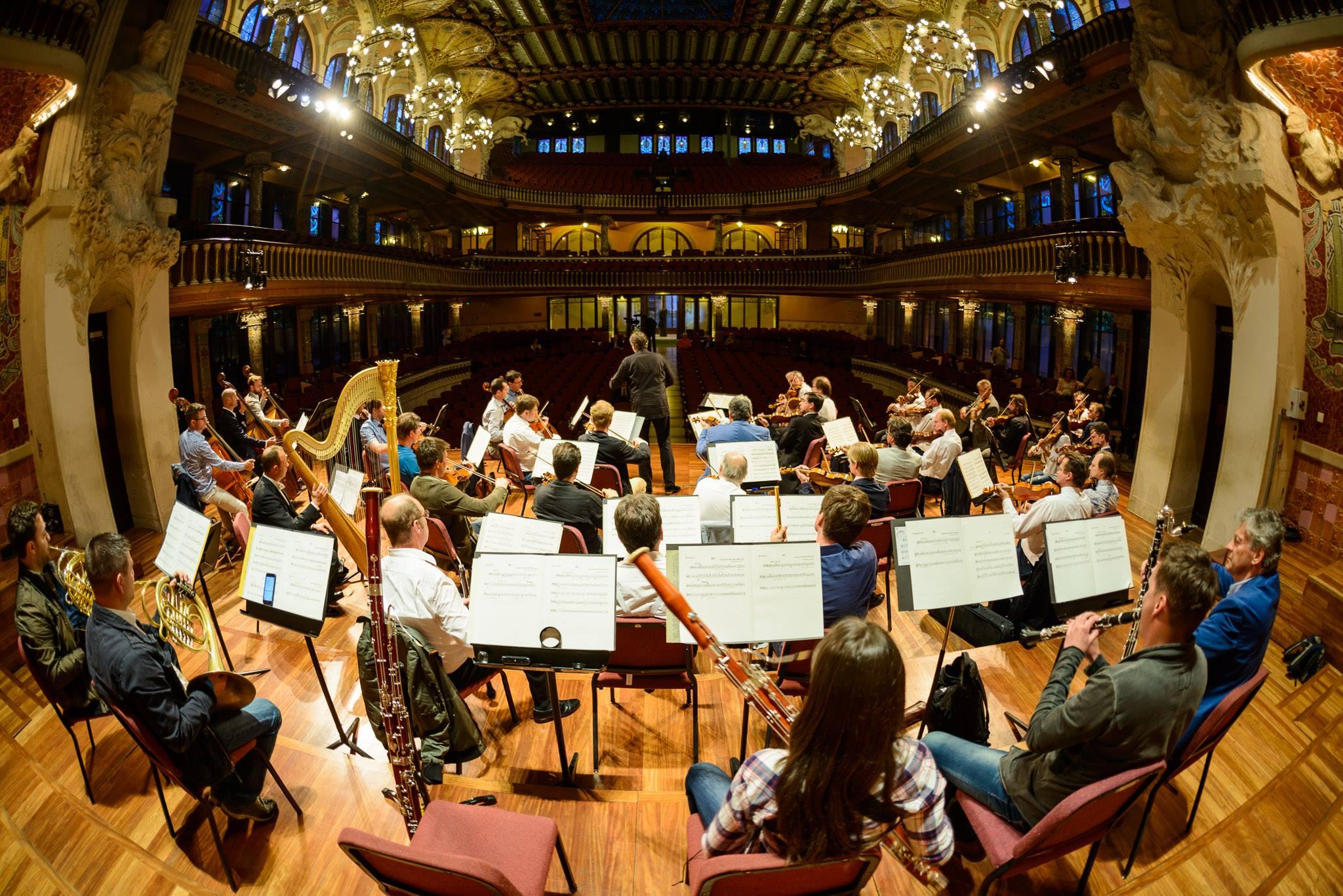La Filharmònica de Viena al Palau de la Música | Foto: Benedikt Dinkhauser