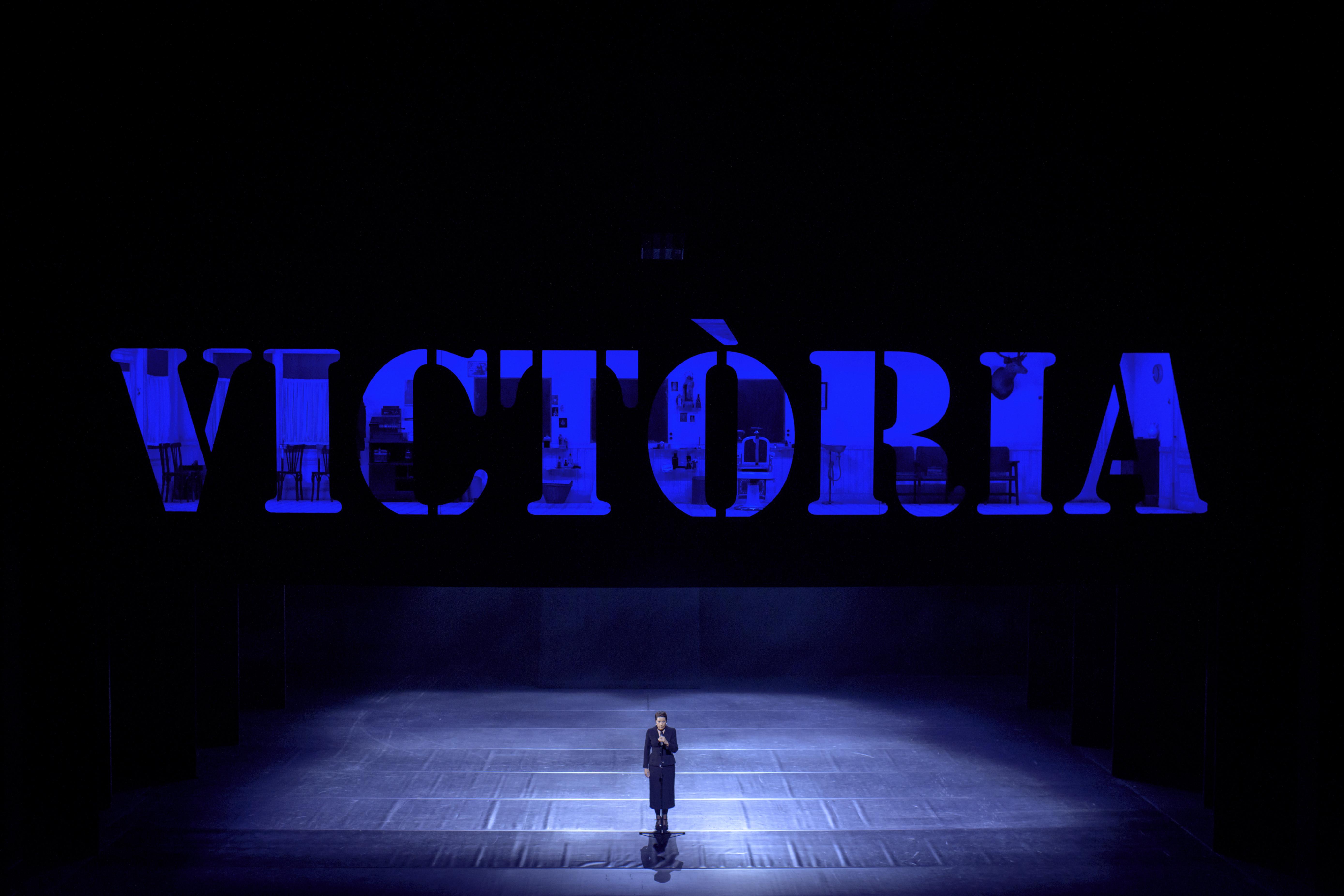 Emma Vilarasau és Victòria, la protagonista de l'espectacle