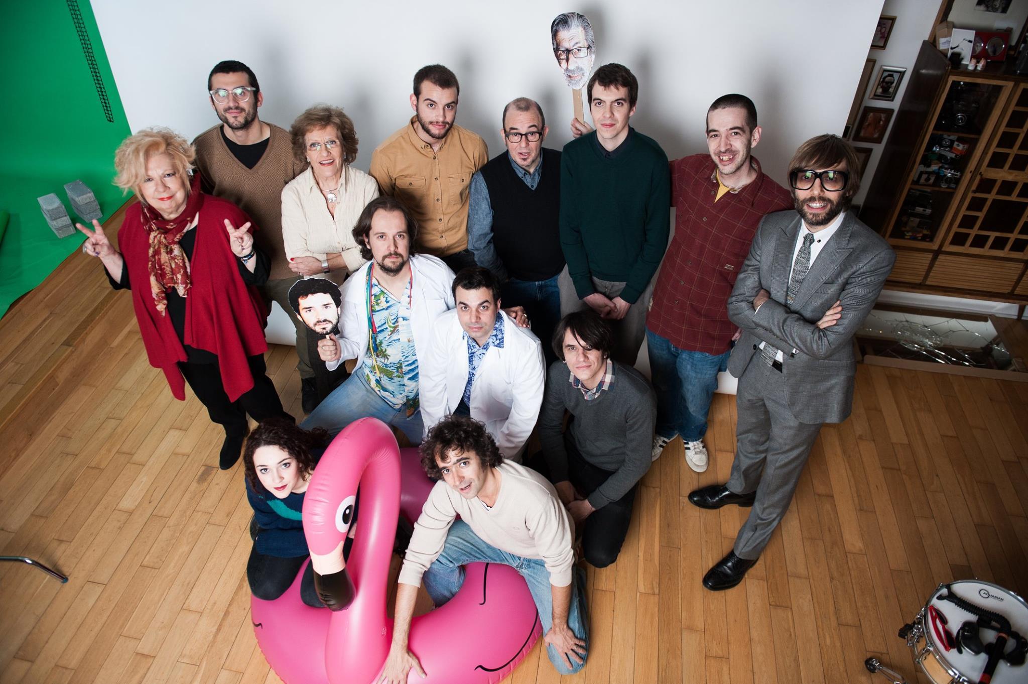 L'equip artístic de La pols i l'era