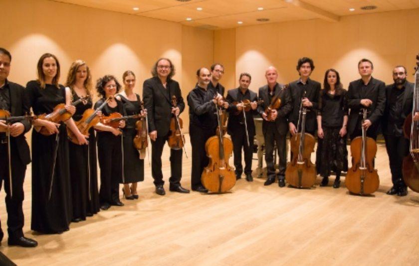 Christophe Coin i l'Orquestra Barroca de Barcelona