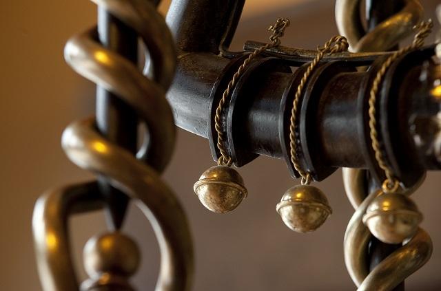 Detall del Palau Güell | Foto de l'exposició 'El palau dels artesans' | Diputació de Barcelona / Ramon Monton