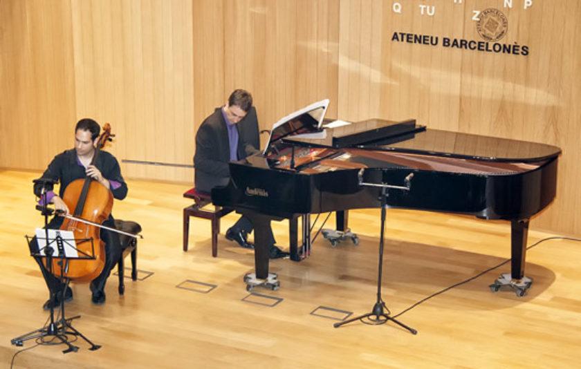 El violoncel català a l'Ateneu Barcelonès