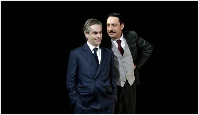 Jacob Torres i David Vert a 'Lehman Trilogy'. © David Ruano