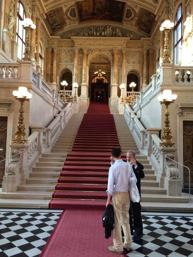 L'interior del Burgtheater vienès. Fotografia de Melcior Casals