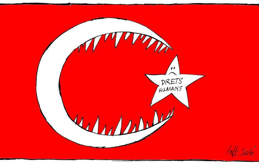 Nova bandera per Turquia