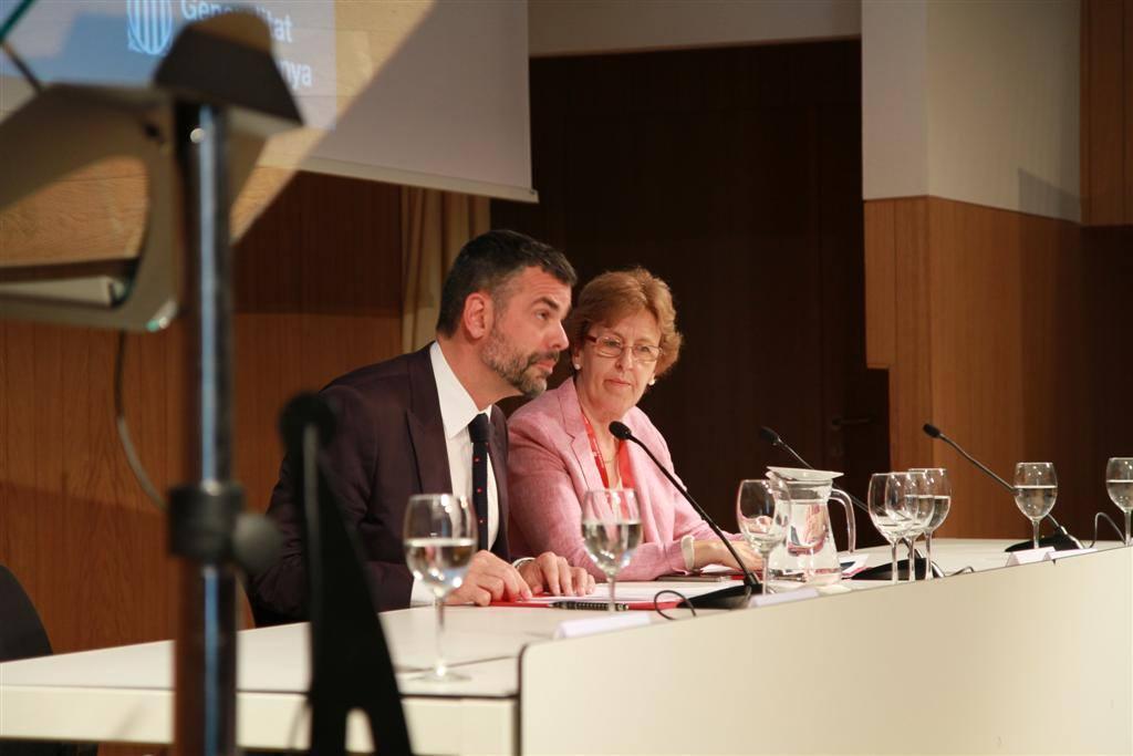 El conseller Sant Vila amb Marta Xirinachs | Foto: DGPL