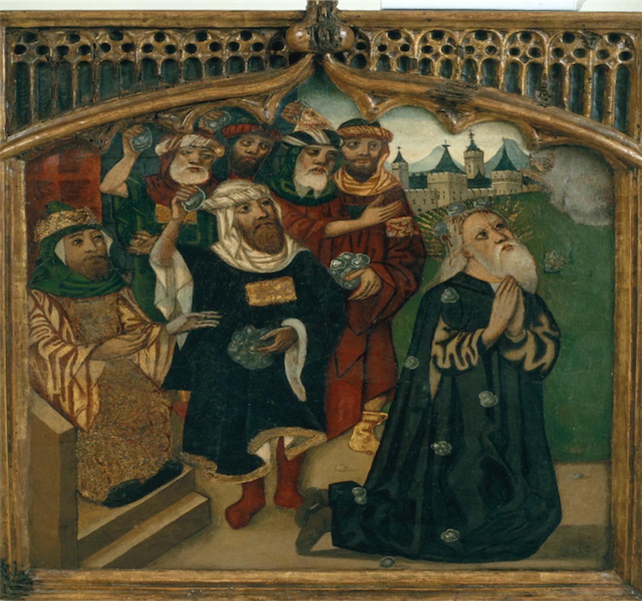 La llegenda de la lapidació de Ramon Llull a mans dels infidels. Un final fals.