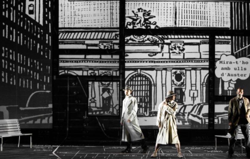 'Ciutat de vidre': del llibre al còmic al teatre