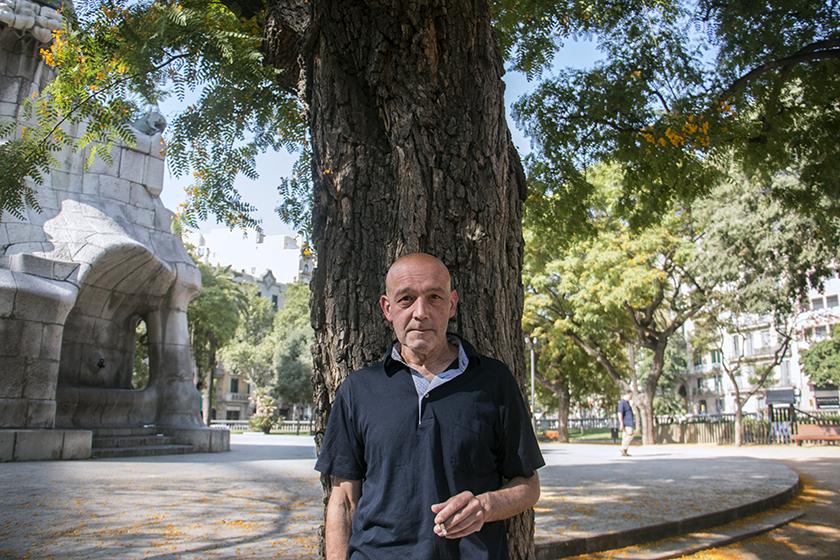 Ponç Puigdevall, escriptor. / Ester Roig