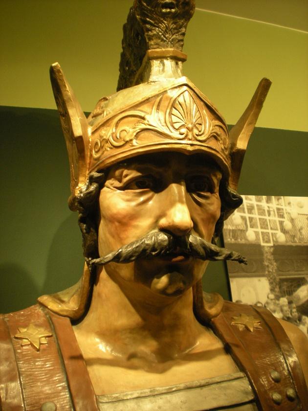 Bust del Gegant d'Olot, obra de Miquel Blay | Museu de la Garrotxa d'Olot