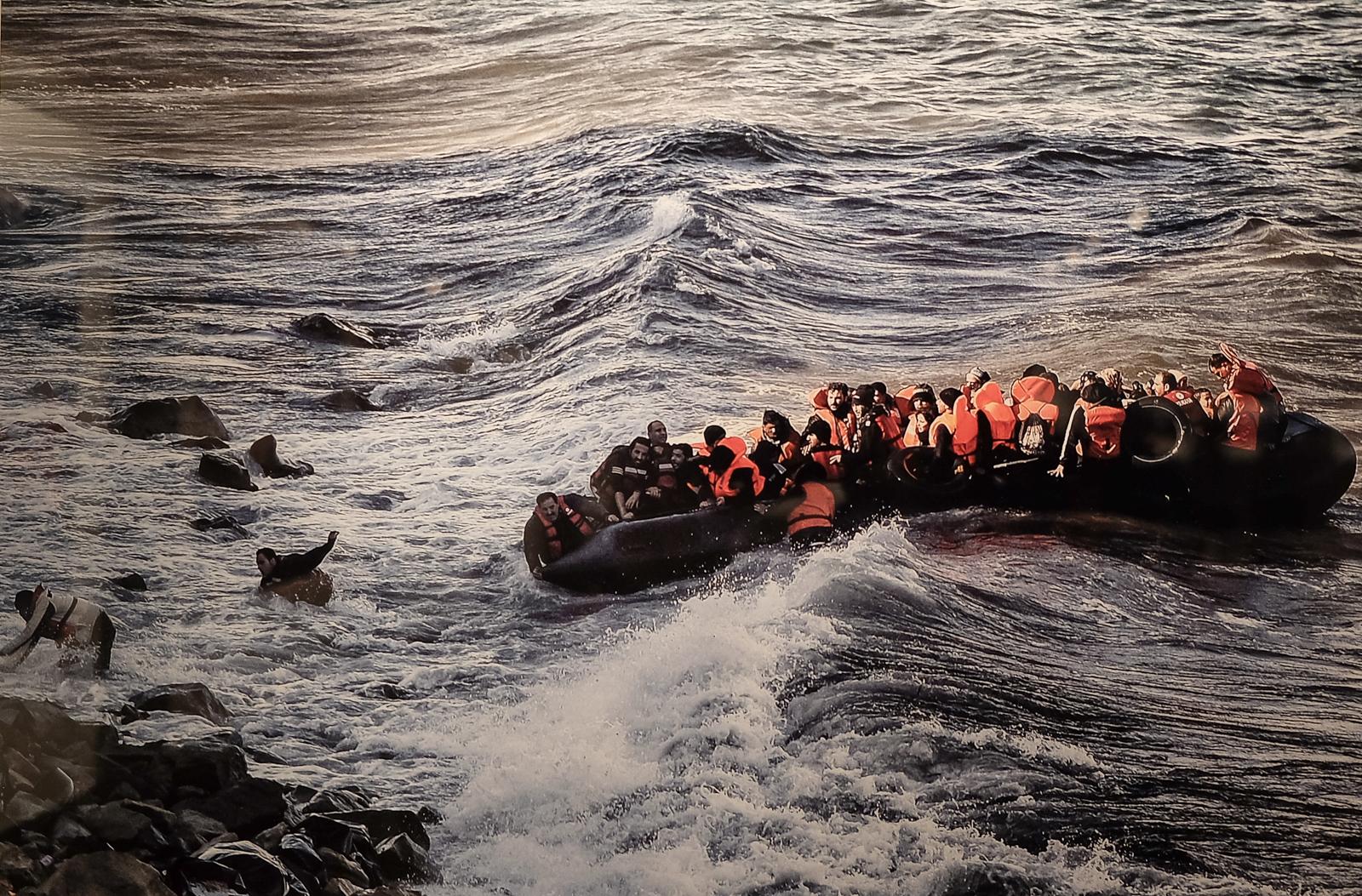 L'arribada dels refugiats | Foto: Aris Messinis