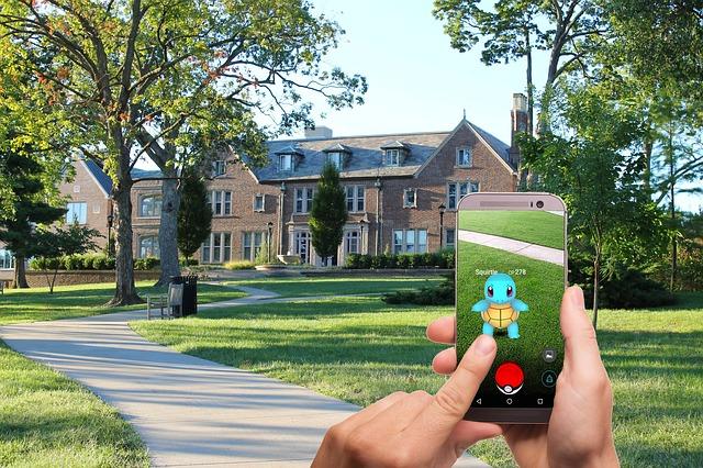 Pokémon Go és el joc de realitat virtual que ha triomfat arreu del món | Font: Pixabay